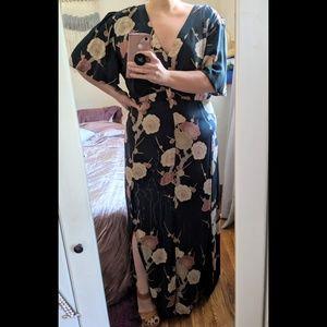 ASOS Curve Floral Dress